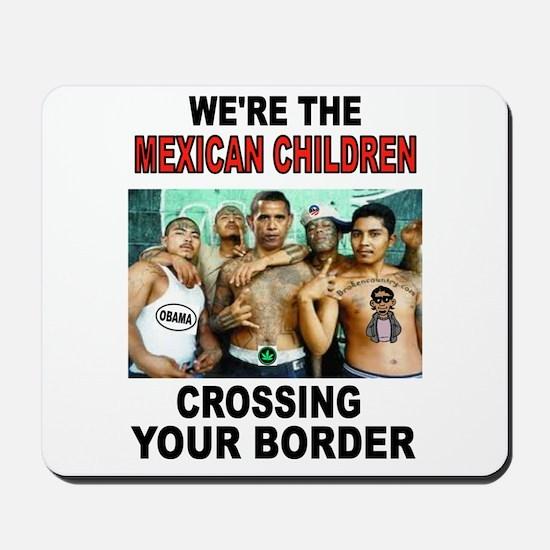 MEXICAN IMMIGRANTS Mousepad