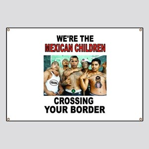 MEXICAN IMMIGRANTS Banner
