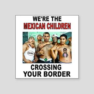 MEXICAN IMMIGRANTS Sticker