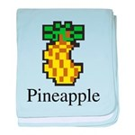Pineapple. baby blanket