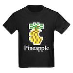 Pineapple. Kids Dark T-Shirt