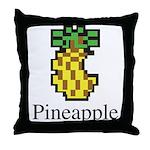 Pineapple. Throw Pillow