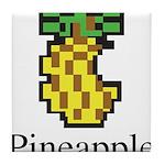 Pineapple. Tile Coaster