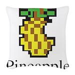 Pineapple. Woven Throw Pillow