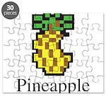 Pineapple. Puzzle