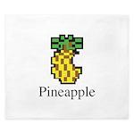 Pineapple. King Duvet