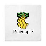 Pineapple. Queen Duvet