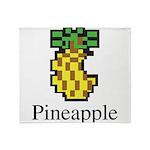Pineapple. Throw Blanket