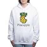 Pineapple. Women's Hooded Sweatshirt