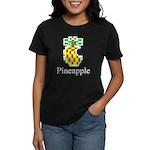 Pineapple. Women's Dark T-Shirt