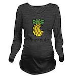 Pineapple. Long Sleeve Maternity T-Shirt