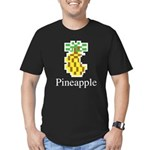 Pineapple. Men's Fitted T-Shirt (dark)