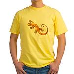 Golden Yellow Gecko Yellow T-Shirt