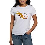 Golden Yellow Gecko Women's T-Shirt