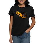 Golden Yellow Gecko Women's Dark T-Shirt