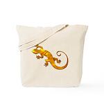 Golden Yellow Gecko Tote Bag