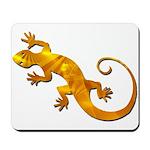 Golden Yellow Gecko Mousepad