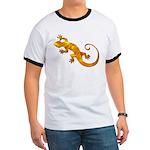 Golden Yellow Gecko Ringer T