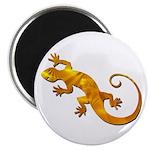 Golden Yellow Gecko Magnet