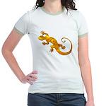 Golden Yellow Gecko Jr. Ringer T-Shirt