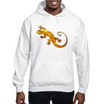 Golden Yellow Gecko Hooded Sweatshirt