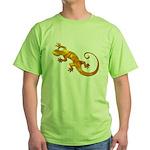 Golden Yellow Gecko Green T-Shirt