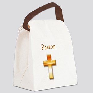 Pastor2 Canvas Lunch Bag