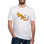 Golden Yellow Gecko Fitted T-Shirt