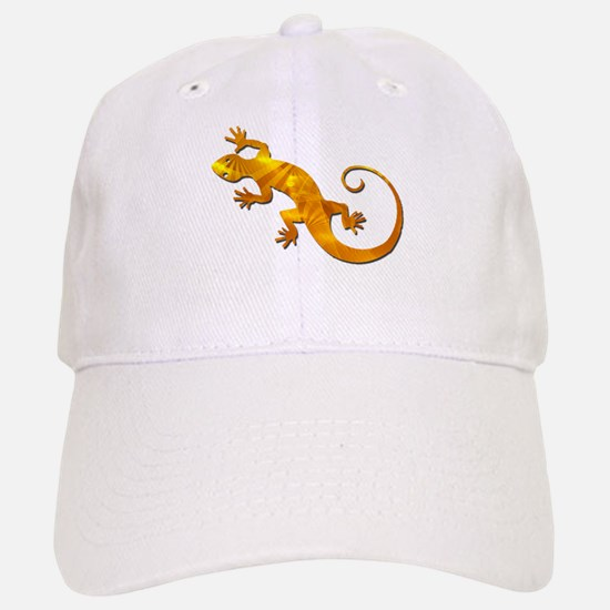 Golden Yellow Gecko Baseball Baseball Cap