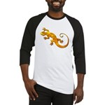 Golden Yellow Gecko Baseball Jersey