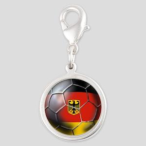 German Soccer Ball Charms