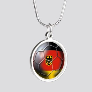 German Soccer Ball Necklaces