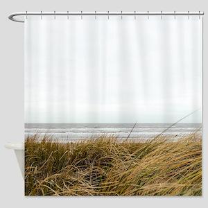 Seashore Sand Dunes Shower Curtain