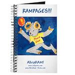 """AbraRam Cartoon Ram Journal 8""""X5"""""""