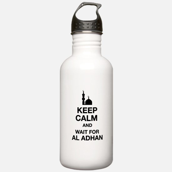 KEEP CALM AND WAIT FOR Water Bottle