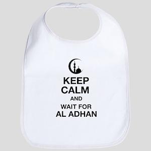 KEEP CALM AND WAIT FOR AL ADHAN Bib