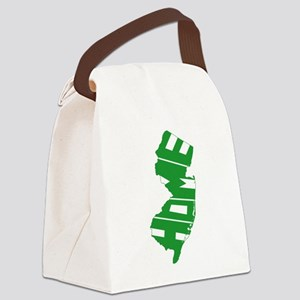 New Jersey Home Canvas Lunch Bag