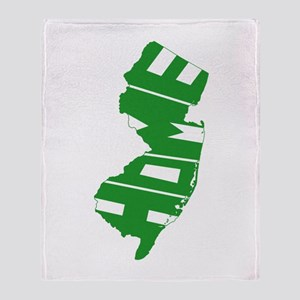 New Jersey Home Throw Blanket