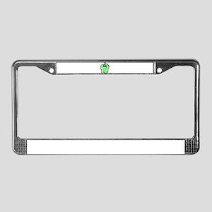 GREEN BELL PEPPER License Plate Frame