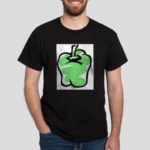 GREEN BELL PEPPER Dark T-Shirt