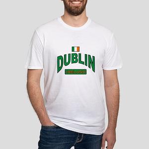Dublin Ireland Fitted T-Shirt