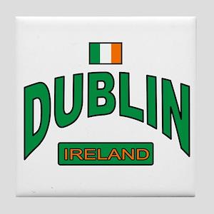 Dublin Ireland Tile Coaster