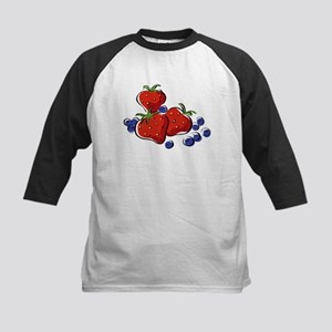STRAWBERRIES and BLUEBERRIES Baseball Jersey