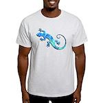 Malachite Blue Gecko Light T-Shirt