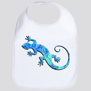 Malachite Blue Gecko Bib