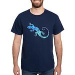 Malachite Blue Gecko Dark T-Shirt