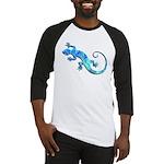 Malachite Blue Gecko Baseball Jersey