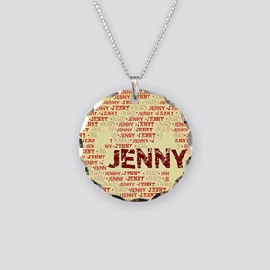 Made of words name JENNY Necklace
