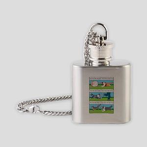 Herd Sheepies Flask Necklace