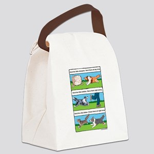 Herd Sheepies Canvas Lunch Bag